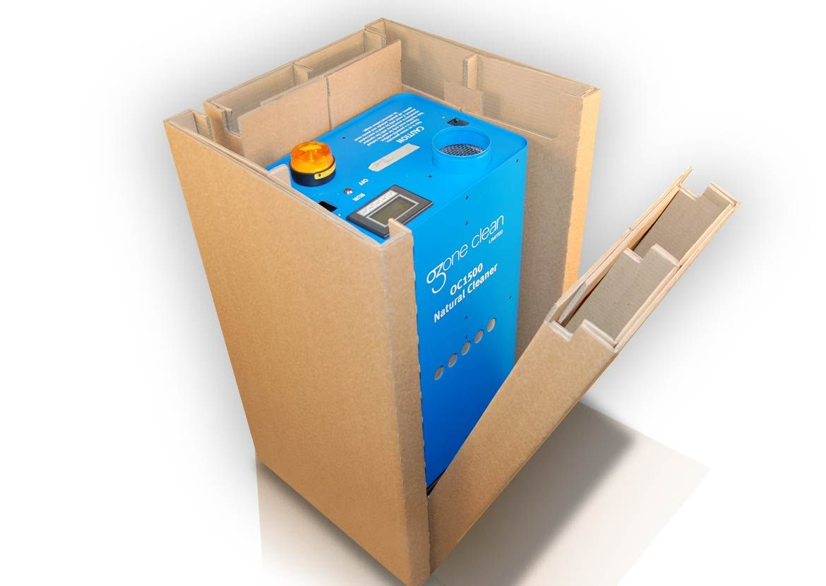 Image result for cardboard box with dividers