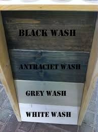Beits en wash kleuren voor steigerhout
