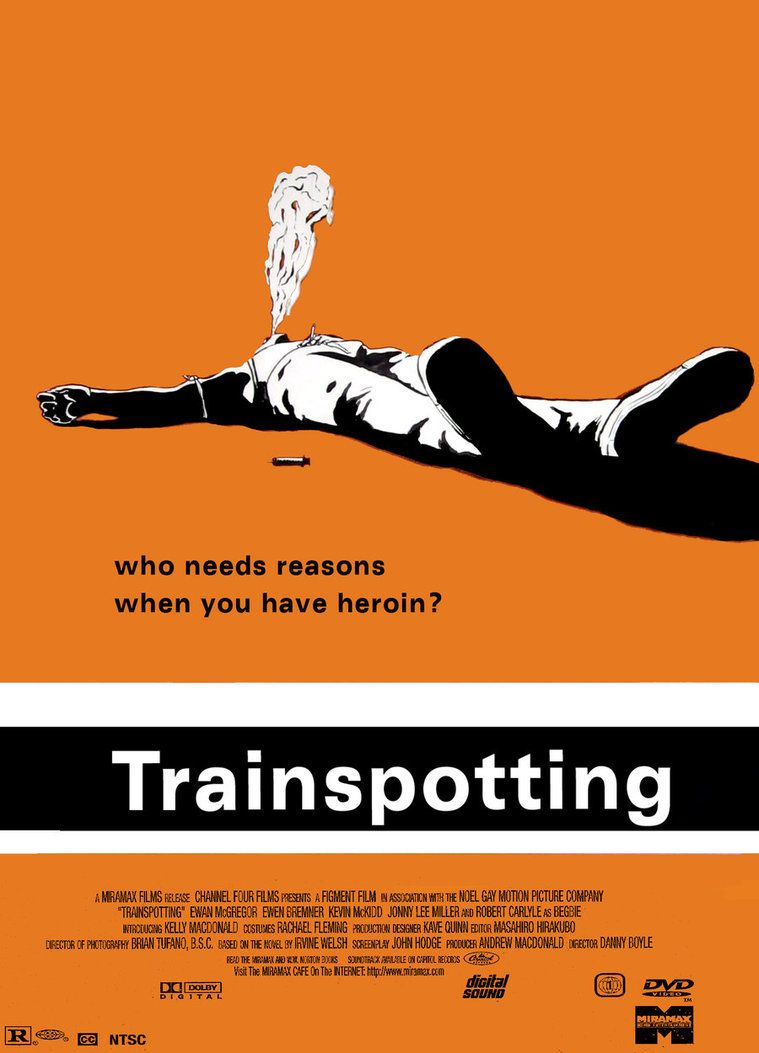 Trainspotting by Danny Boyle...great film but hard for me ...