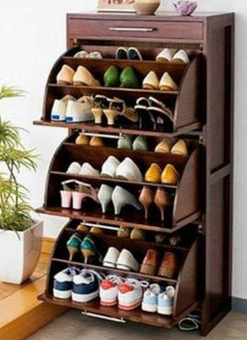 Practicos monadas pinterest zapateras organizadores for Imagenes de muebles para zapatos