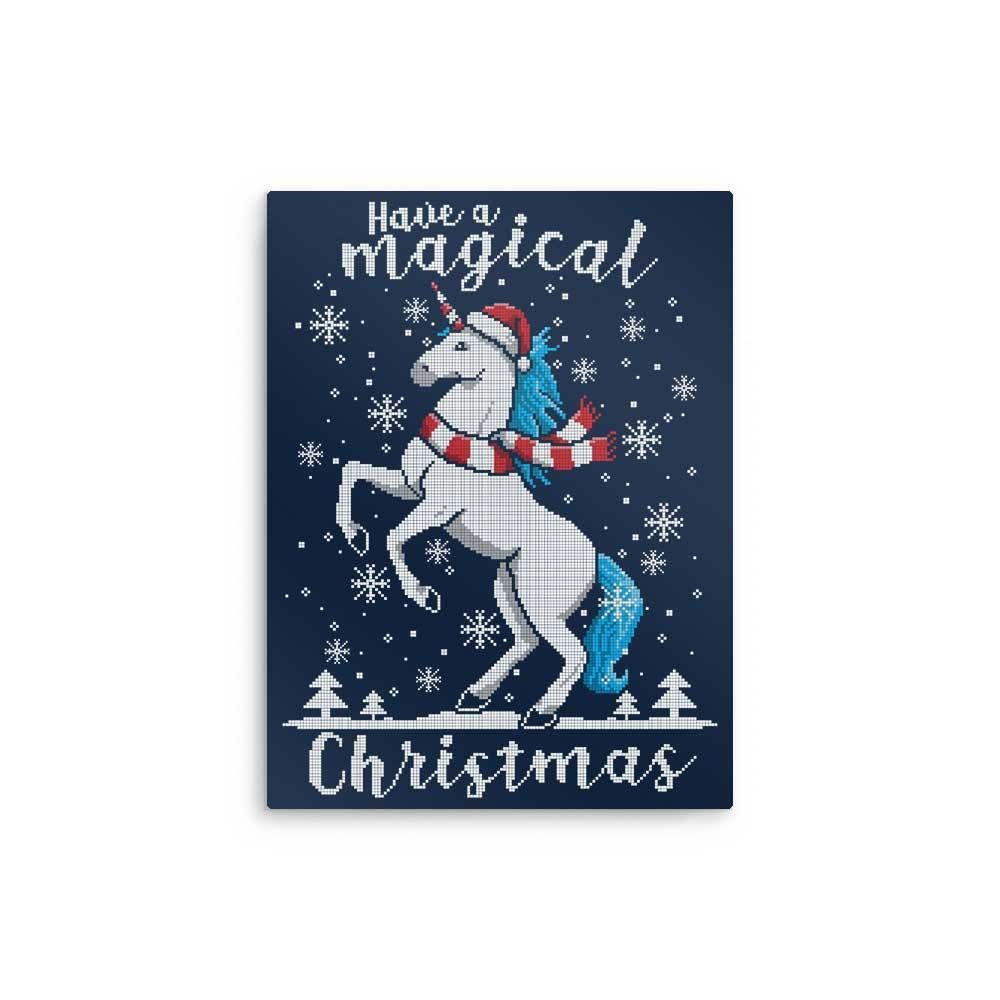 Have a magical christmas metal print in products