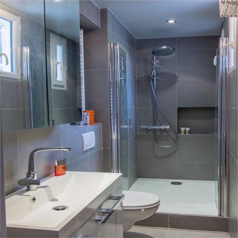 99 Modele Renovation Salle De Bain 2018 Bathroom Design Small