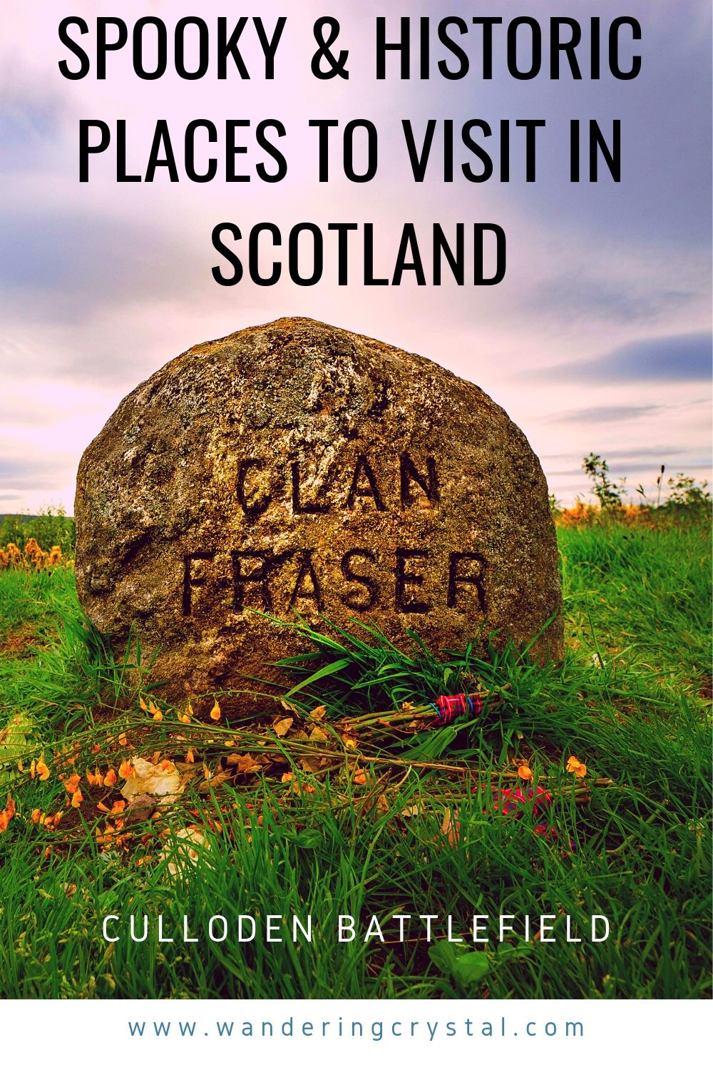Culloden Battlefield - 10 Spooky and Historic Sites to See in Scotland #travelscotland