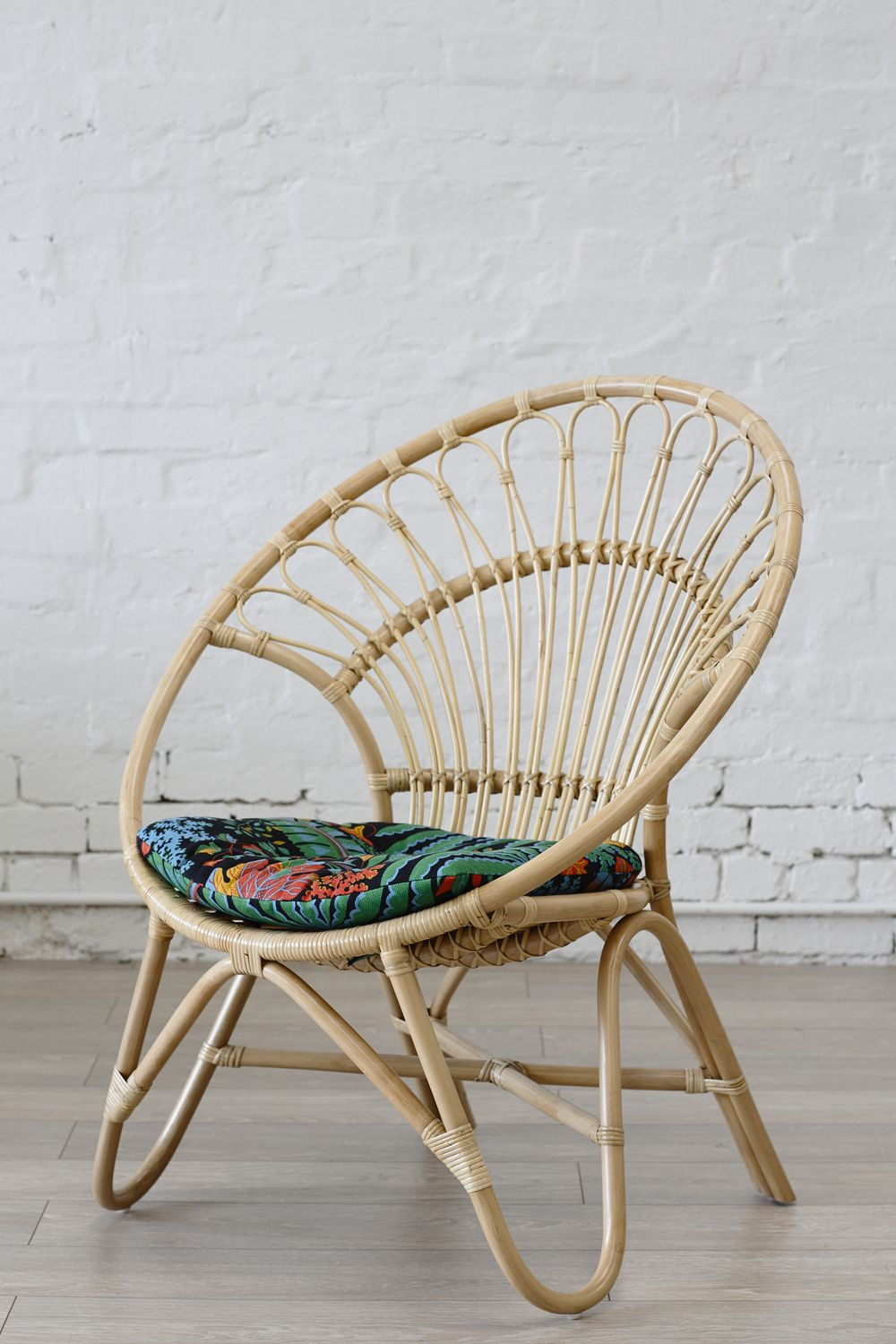 Captivating Rattan Round Chair Natural // The Family Love Tree