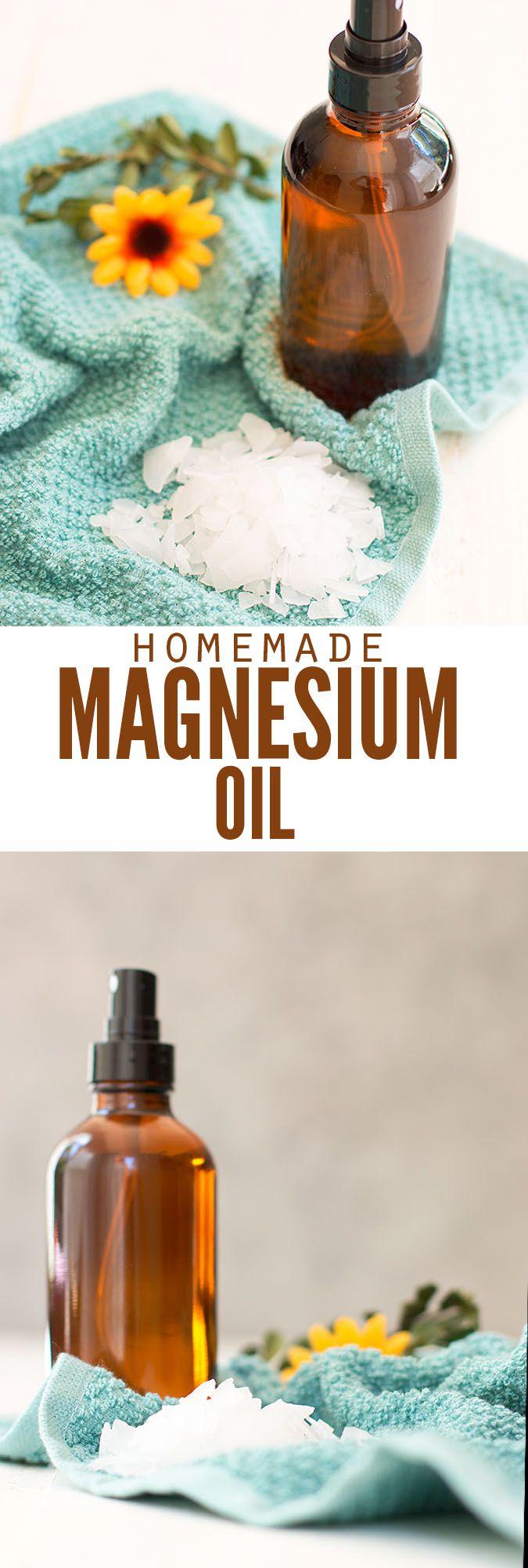 Magnesium Oil Tutorial (2 ingredients Magnesium oil