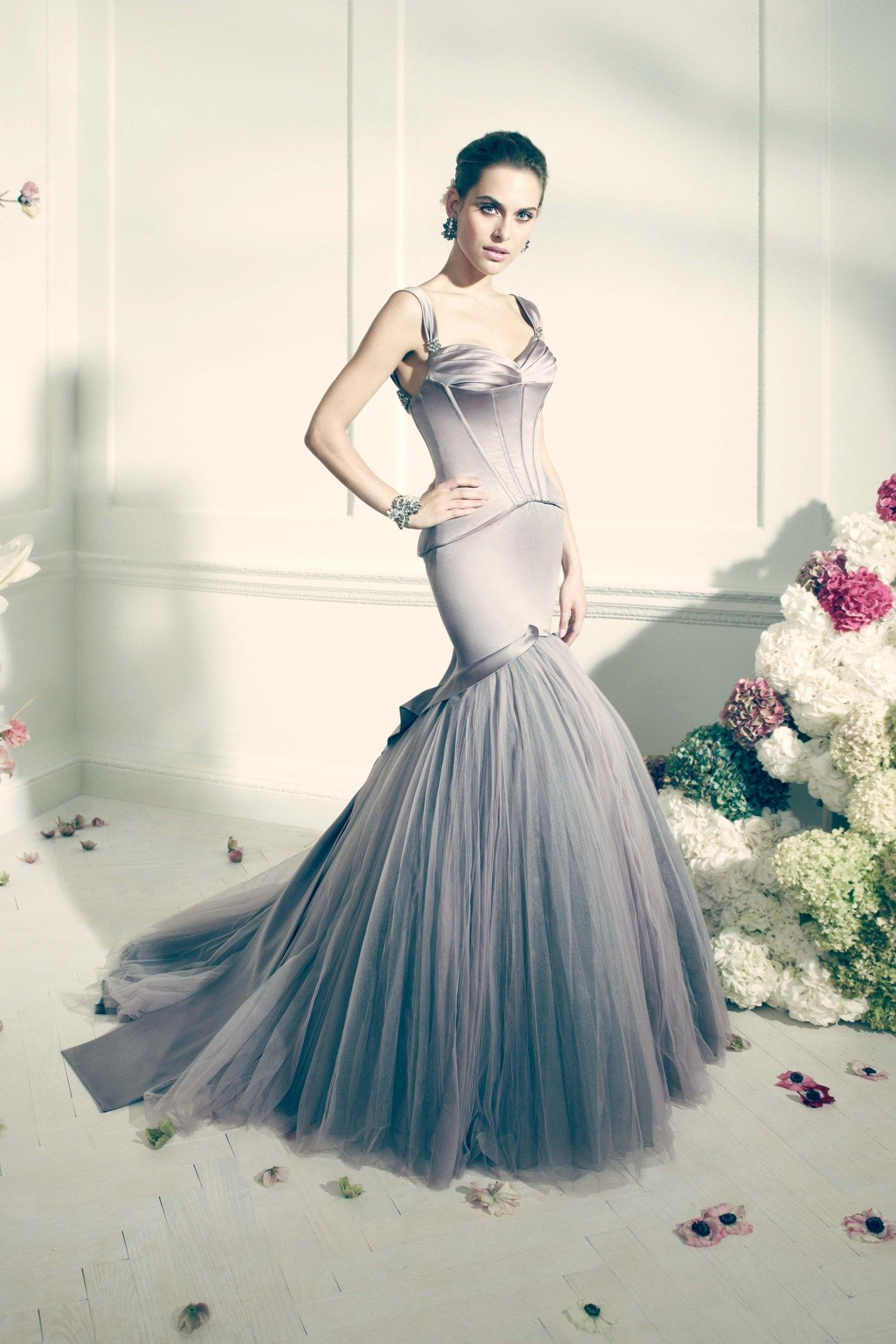 Zac posen wedding dress  Truly Zac Posen For Davidus Bridal Pictures BridesMagazine