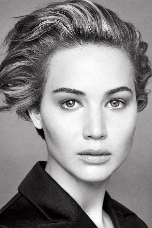 Jennifer Lawrence for Dior Spring 2014 photographed by Patrick Demarchelier.
