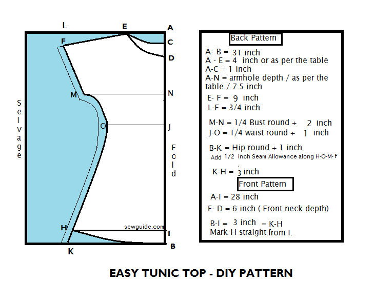 how to sew tunic for women | Sewing Patterns. | Pinterest | Tunic ...