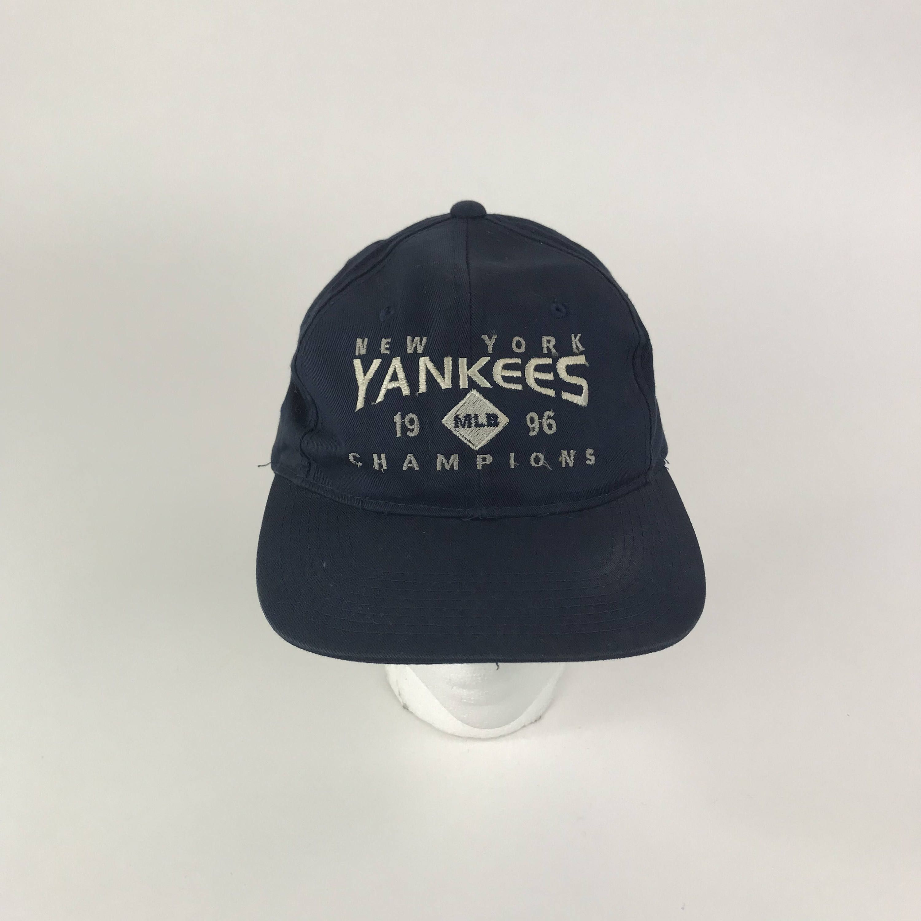 00e6d6f64f0 ... clearance 1996 champions new york yankees snapback hat cap retro new  york yankees hat blue 709ad