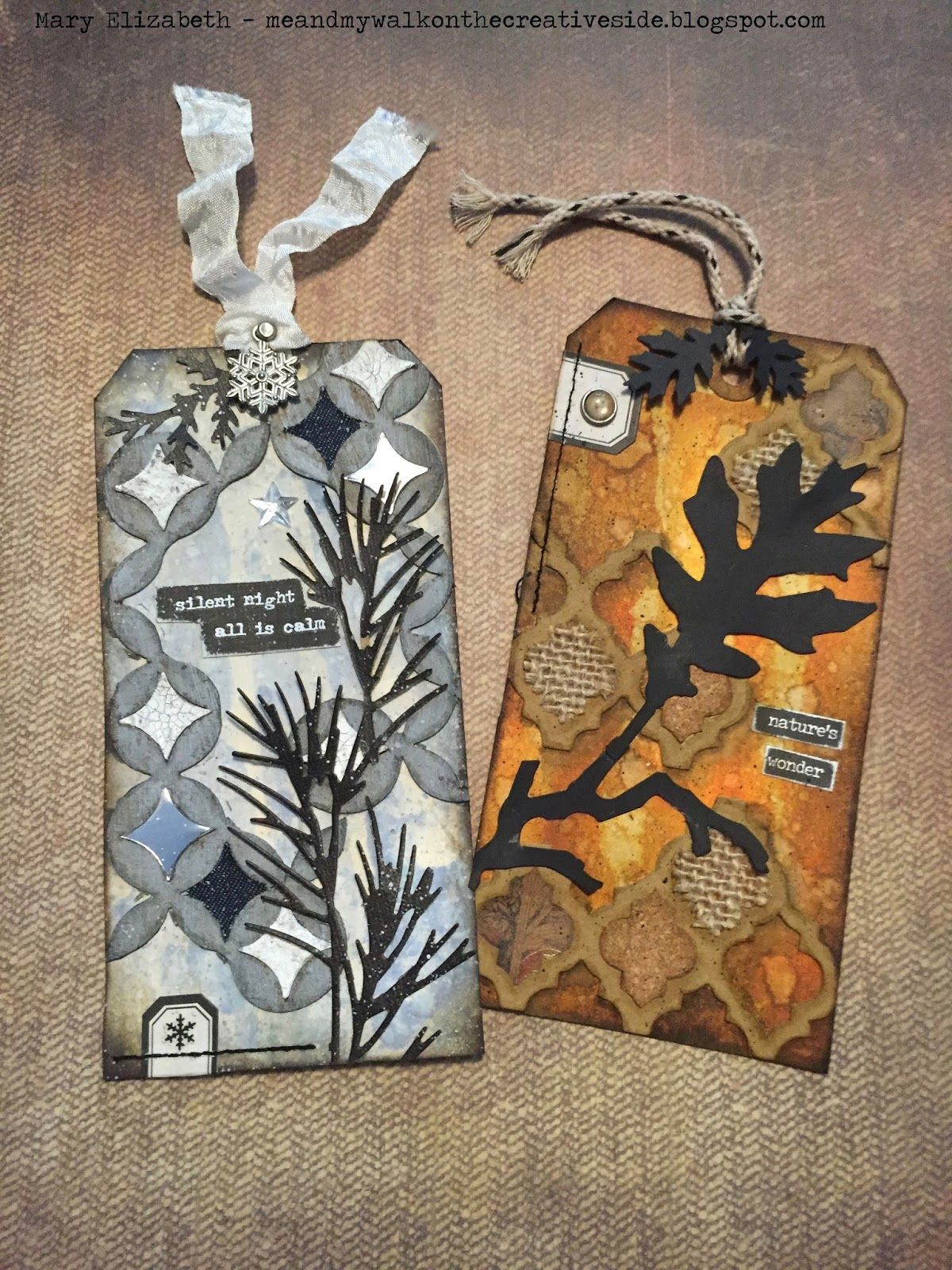 M.E. and My Walk on the Creative Side: Tim Holtz 12 Tags of 2016 for August…