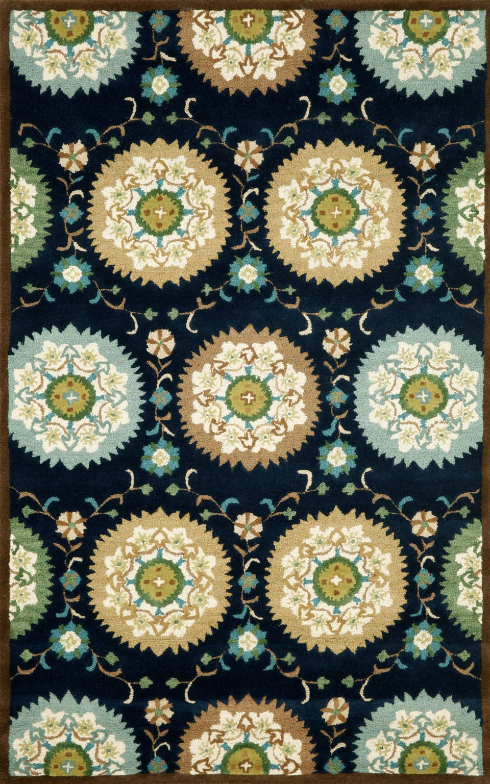 Chic hand tufted rugs for sale, at Hadinger Area Rug Gallery! (Nationwide shipping available.) C14Z 9674/33 Suzanie Denim