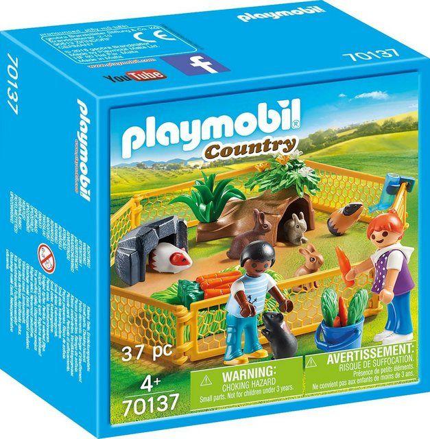 Pin Von Eva T Auf Playmobil Playmobil Kleine Tiere Freigehege