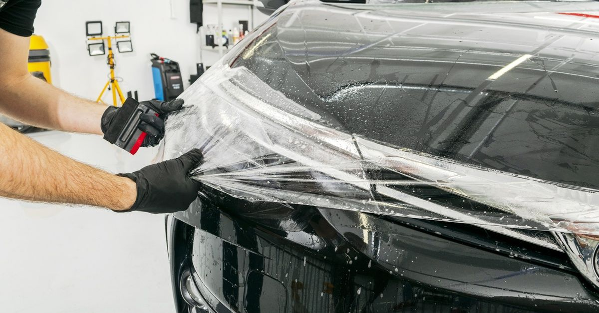 Interior And Exterior Detail In 2021 Paint Protection Car Detailing Tinted Windows