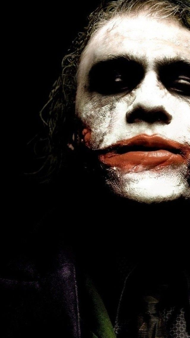Art Creative Batman Movie Superhero Joker Black HD IPhone Wallpaper