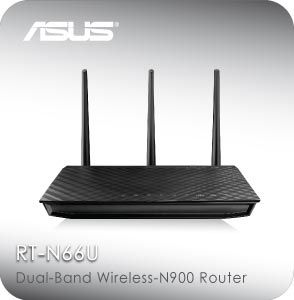 Asus Rt N66u Gigabit Router Wireless Router Router