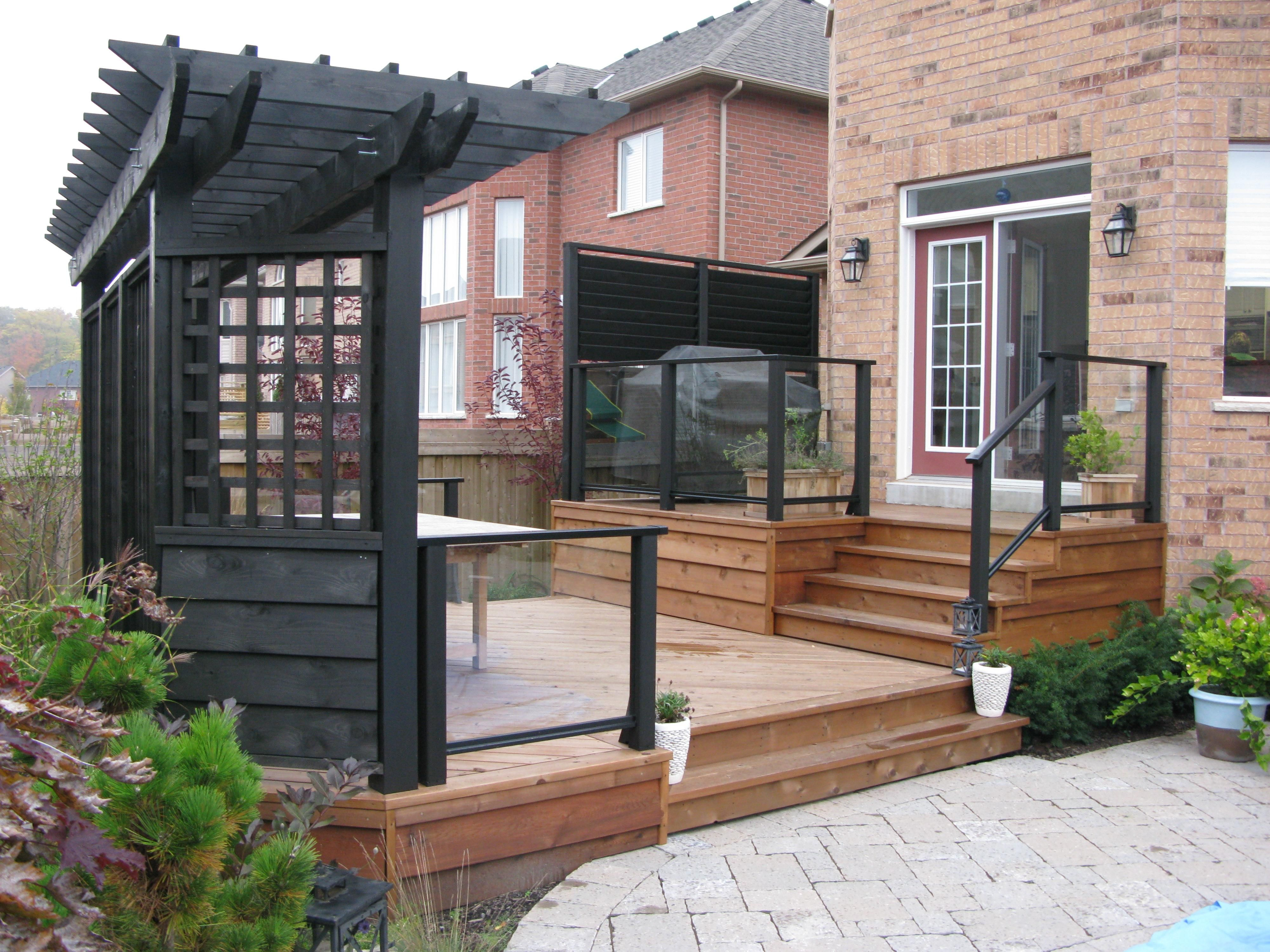 patio privacy screens create privacy with a custom