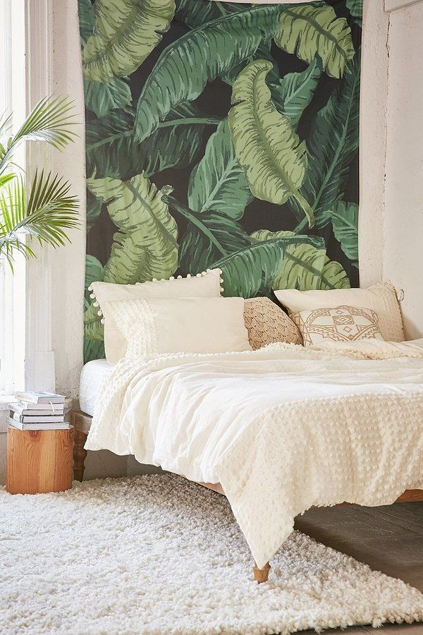 Assembly Home Banana Leaf Tapestry Tropical Home Decor Tropical Bedrooms Urban Outfitters Bedroom