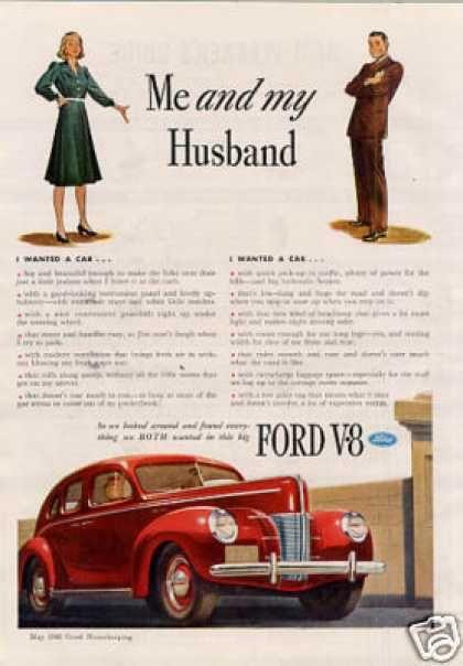 Vintage Gender Advertisements Of The 1940s Car Ads Car Advertising Vintage Advertisements