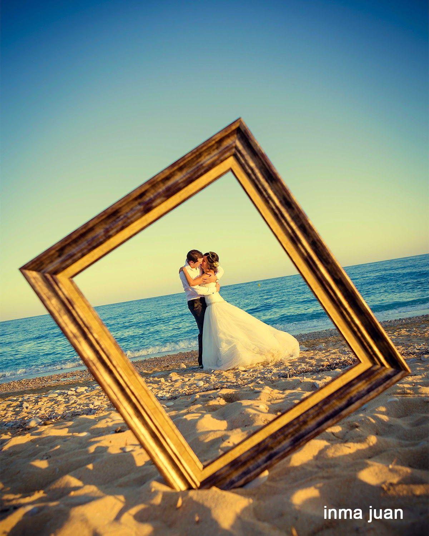 Pre wedding beach  TLAg   Bodas  Pinterest