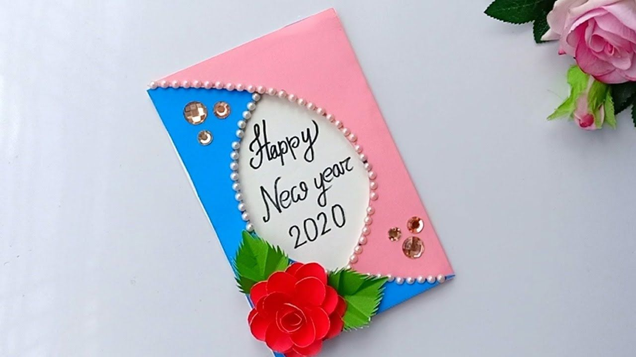 handmade happy new year card ideadiy greeting cards for