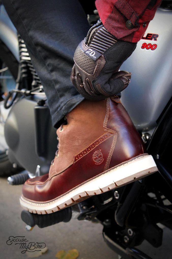 chaussure moto homme timberland