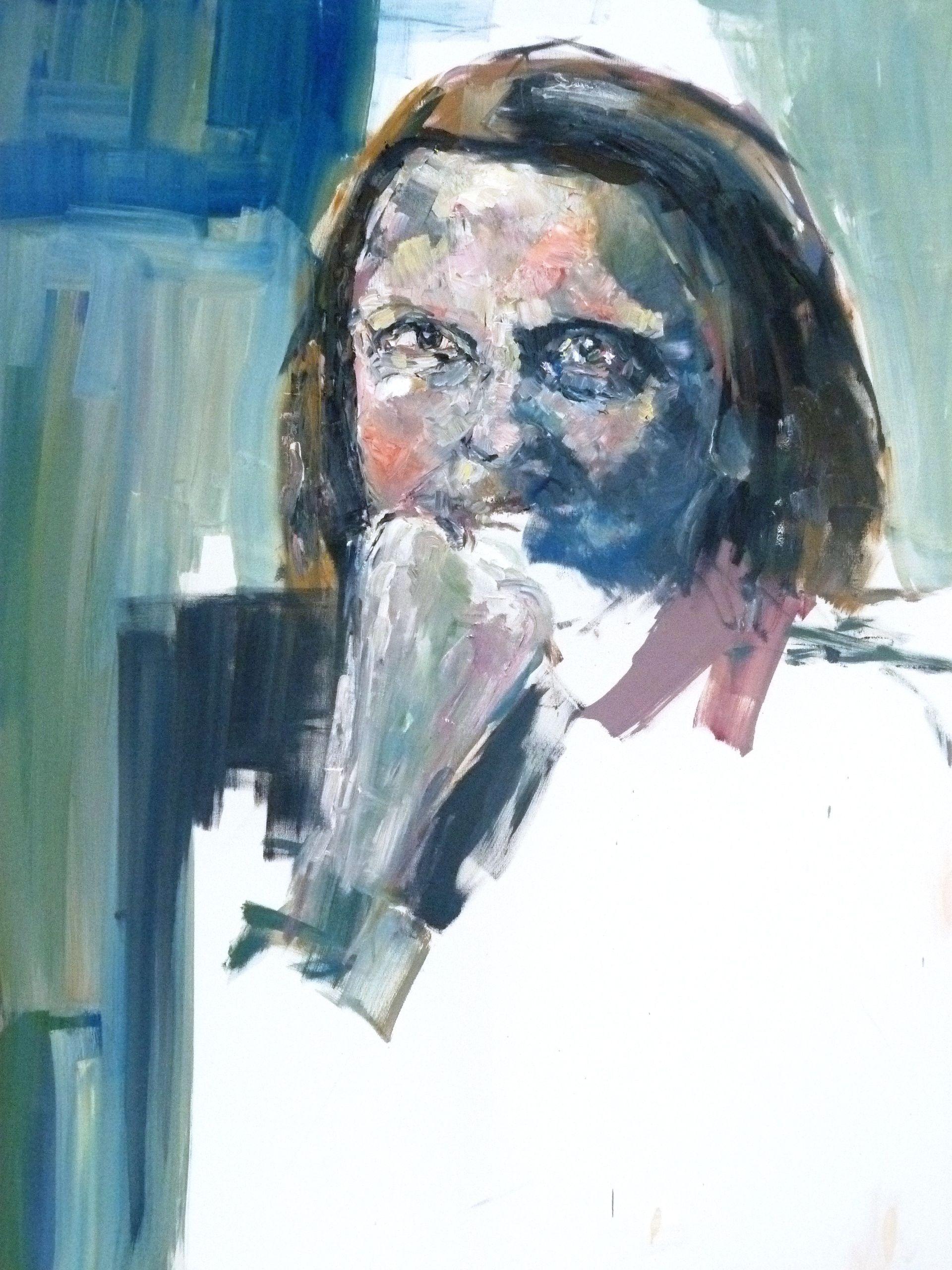 Mum- Oil on canvas