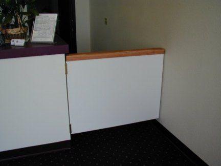 Ordinaire Service Counter Swinging Door Service Counter, Swinging Doors, Door Ideas,  Library Ideas,