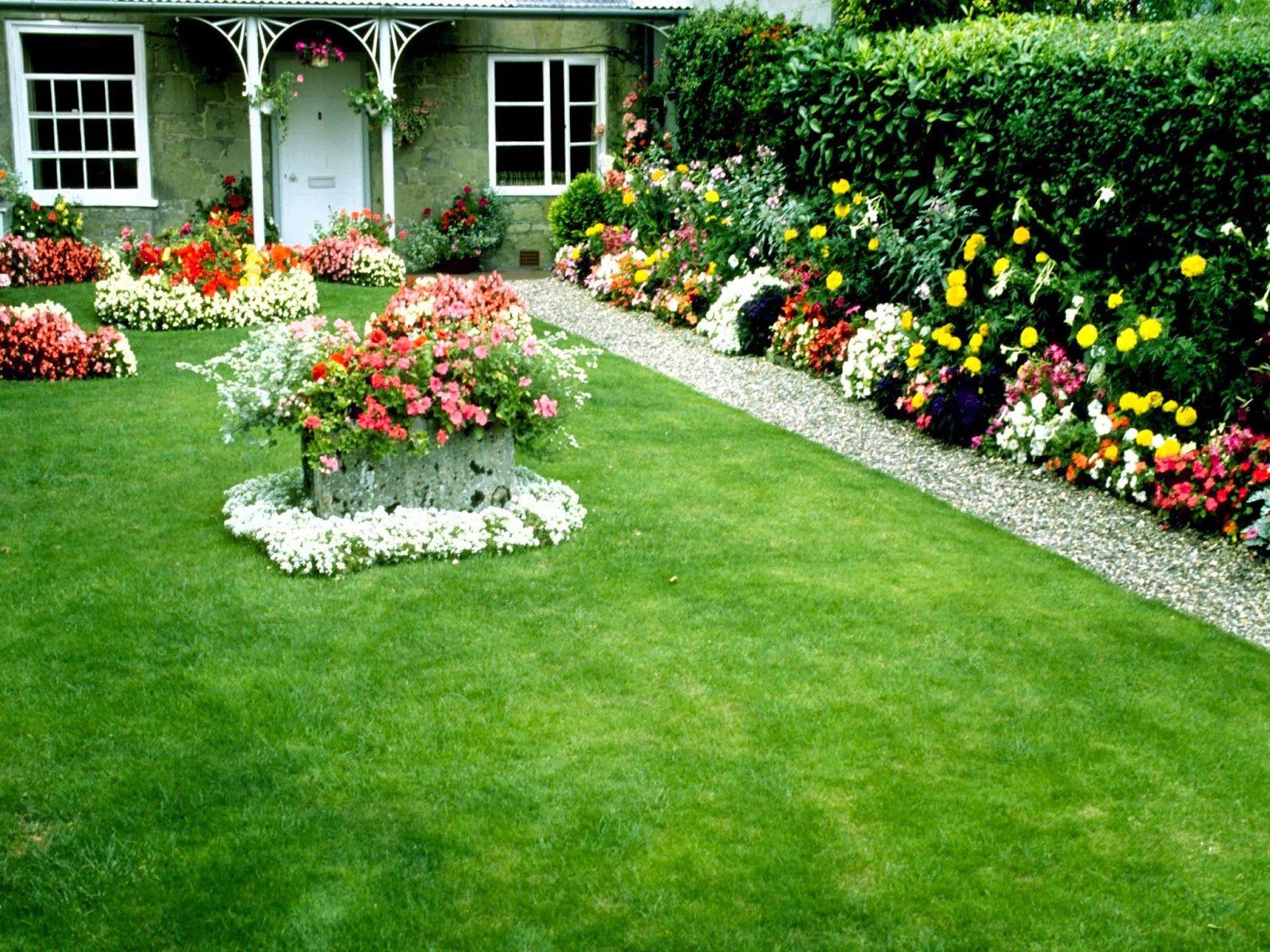 some beautiful garden Flower garden, Cottage garden