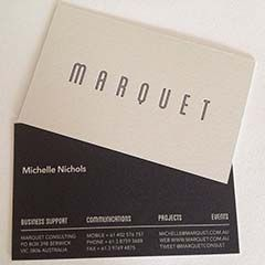 MARQUET Blog: What Not To Do & What To Do with Business Cards