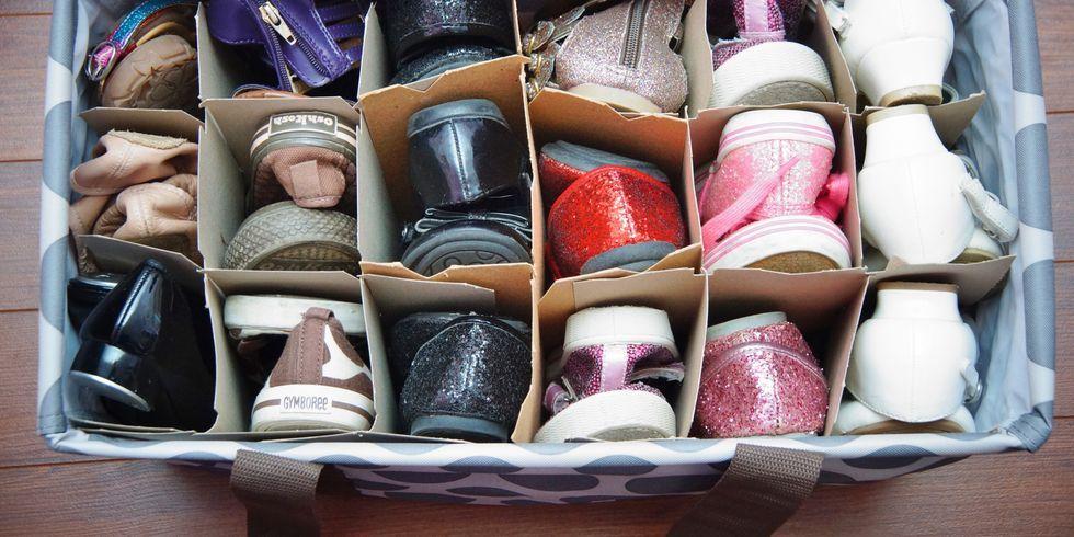 Shoe Organizing Ideas - DIY Shoe Storage