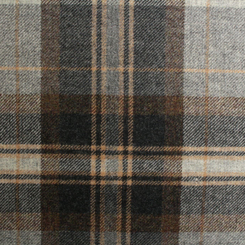Premium Red Herringbone Tweed Wool Effect Fabric Upholstery Cushion Curtain