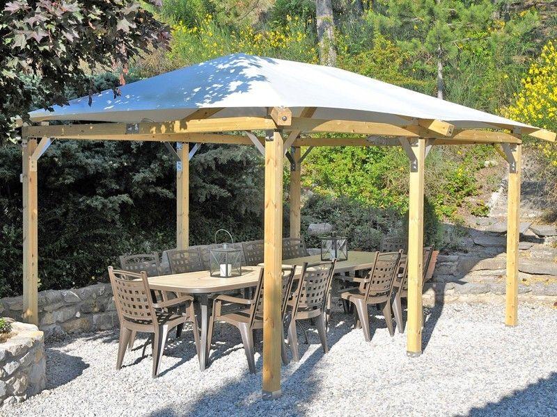 Best Pin By Vili On Backyard Backyard Gazebo Outdoor Structures 400 x 300