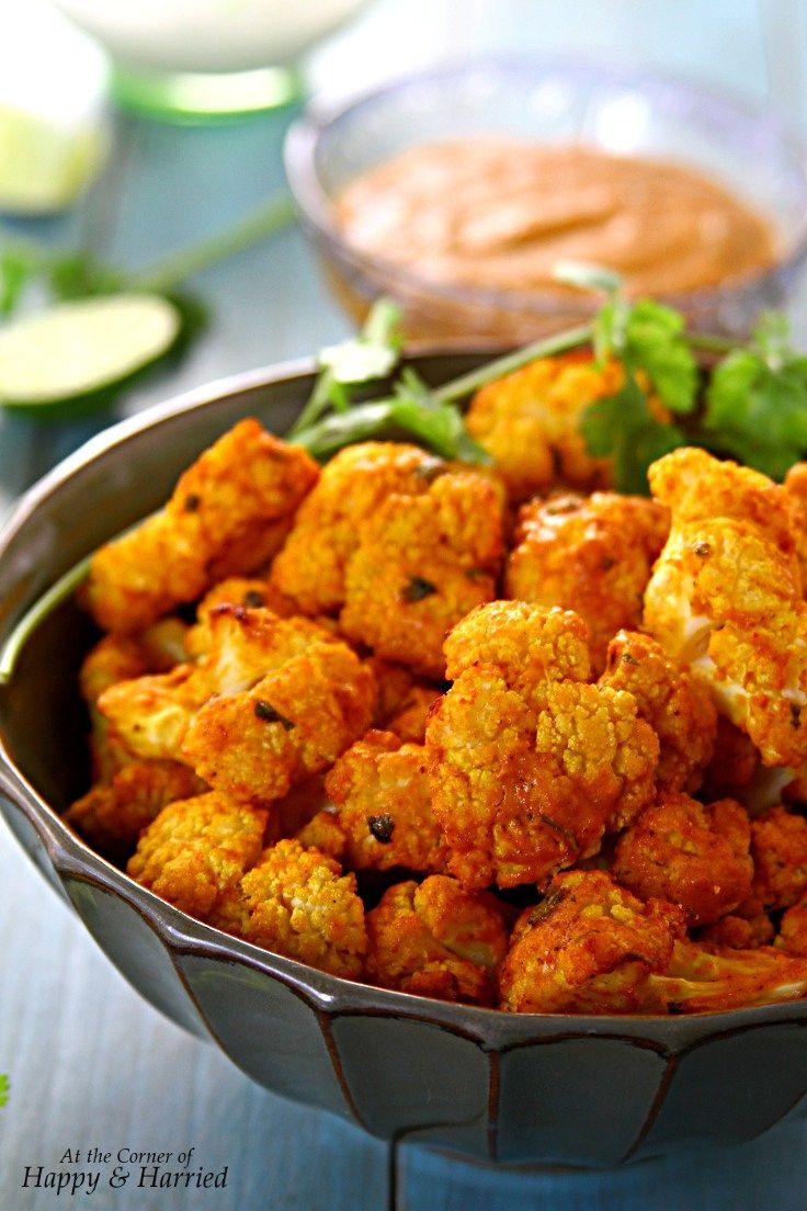 Gobi Tikka (Cauliflower Marinated & Baked With Indian Spices)