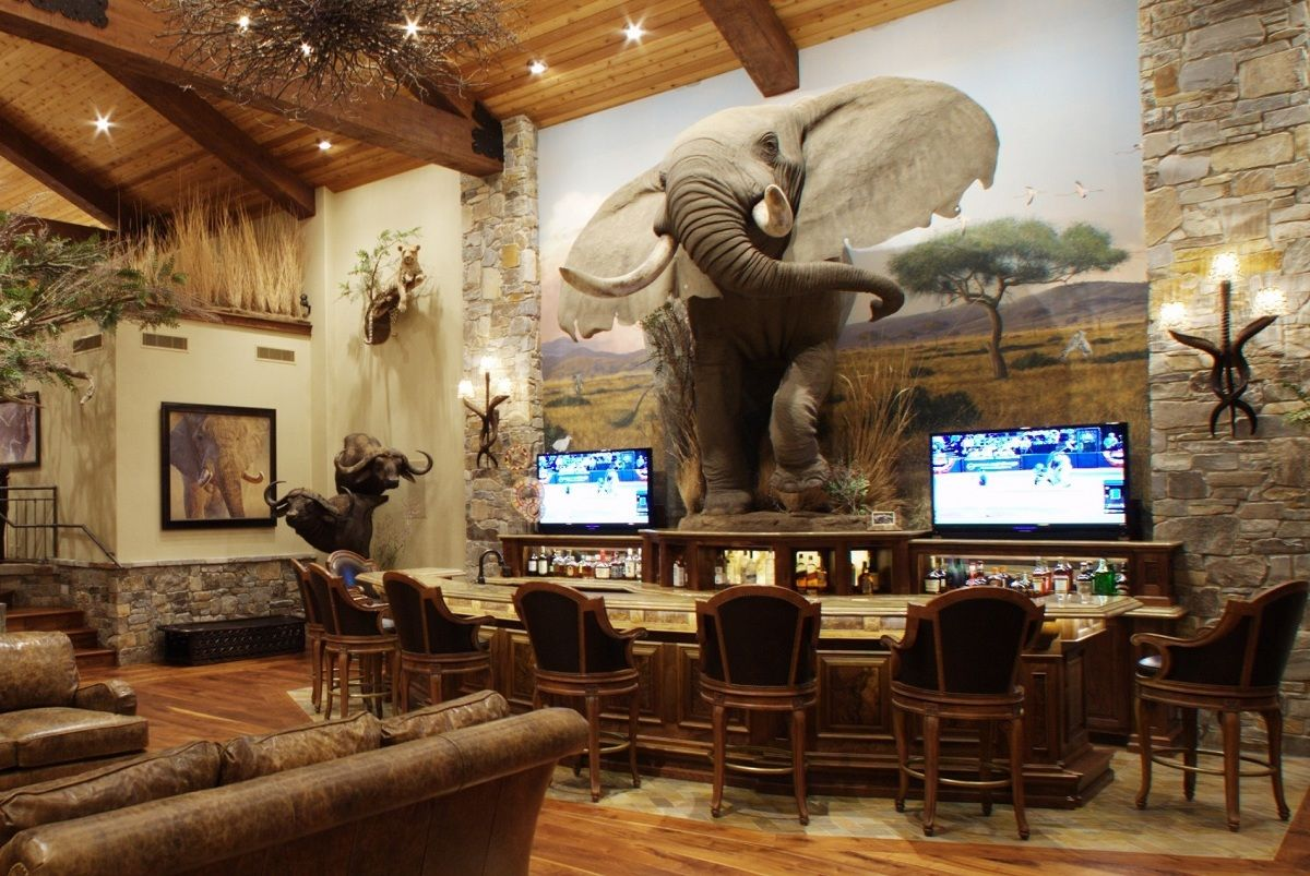 Whether You Call It A Trophy Room Or Game Room In Reality