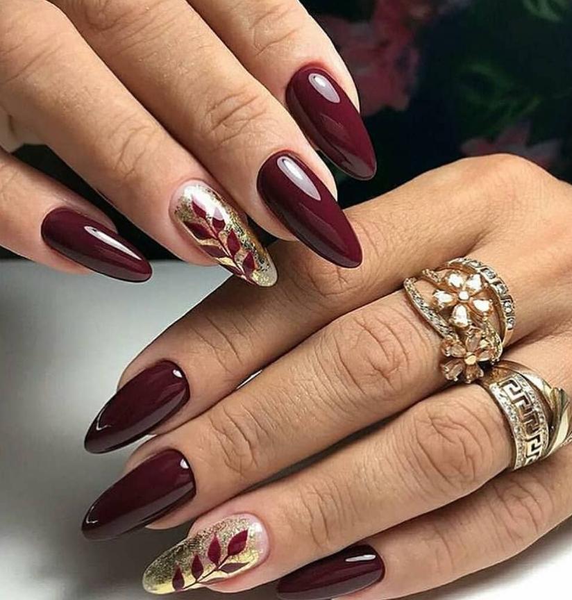 64 Chic Natural Almond Acrylic Nails Shape Design You Won\u0027t