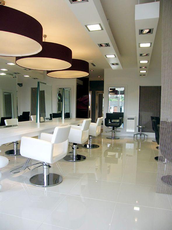 Contemporary Lamp Shades Design Albioncourt UK Beauty Salon