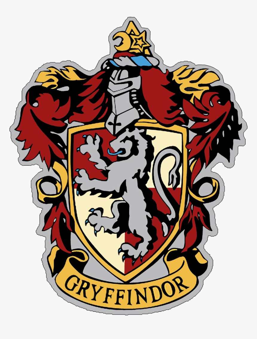 Harry Potter Hogwarts Clipart At Free For Personal Gryffindor Crest To Print Hd Png Download Is Free Transpare Gryffindor Gryffindor Crest Harry Potter Logo