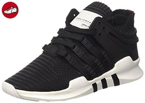 Adidas Herren Eqt Support Adv Primeknit Sneaker Niedrig Hals, Schwarz