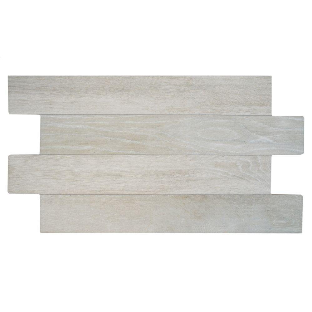 Merola Tile Jimki Nordico 12-1/4 in. x 23-5/8 in. Porcelain Floor ...