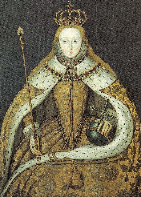 Elizabeth I: an idea for photo wallpaper? I think it would be so beautiful. Oh dear, got myself 'n idea again hahah, wonder if it's going to work out!