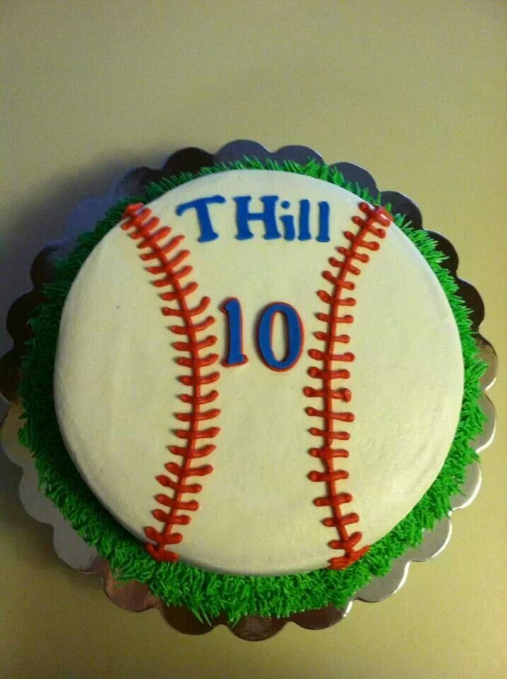 Baseball Cake The Sweet Life Dugger In Owner Jody