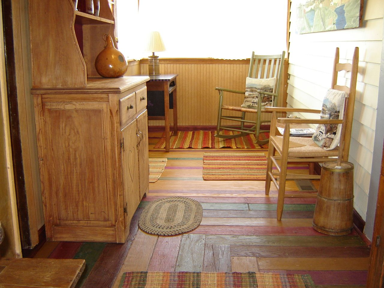 Painted plywood floors ideas gallery of best plywood - Best paint for interior wood floors ...
