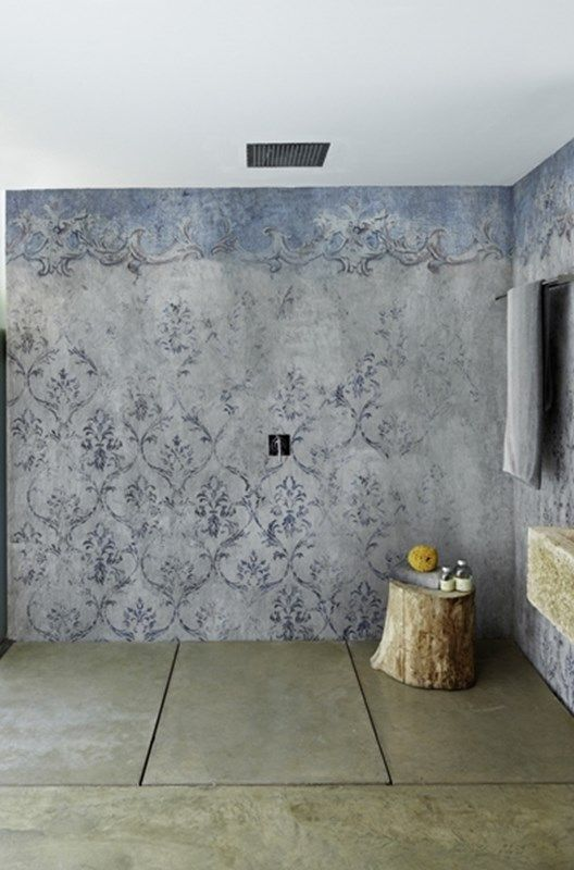 douche italienne d co 10 magnifiques papiers peints papier peint. Black Bedroom Furniture Sets. Home Design Ideas