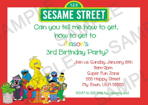 tell me how to get to sesame street