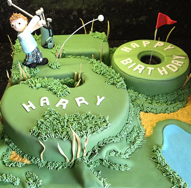 Great Golf Cakes for the Golf-Lover in Your Life  Birthdays, Cakes ...