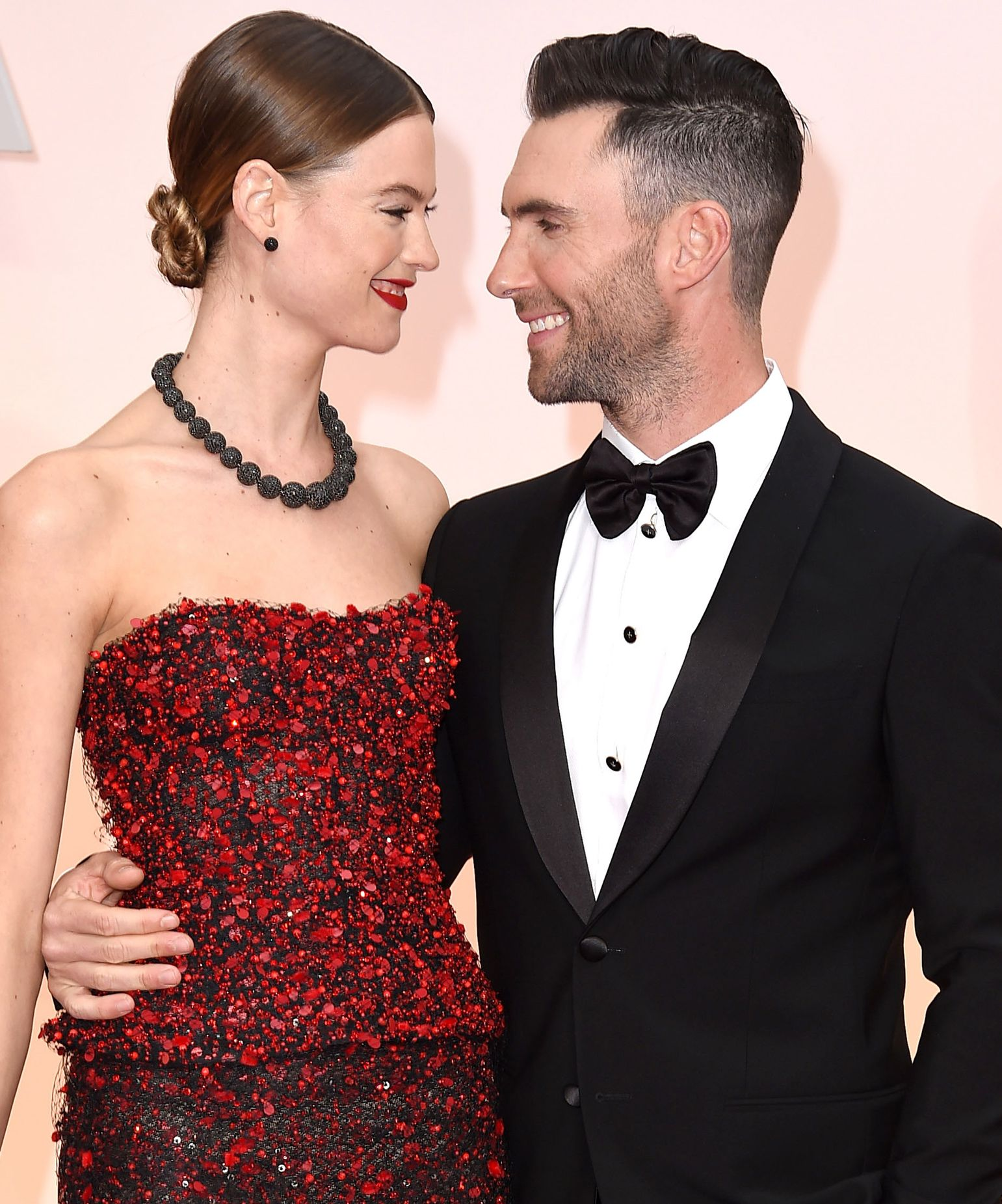 Proof Adam Levine and Behati PrinslooHave the Cutest Relationship Ever from InStyle.com