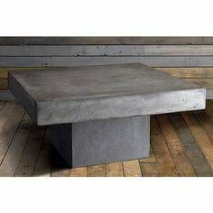 CB Concrete Element Coffee Table HOME Pinterest Concrete - Cb2 concrete table