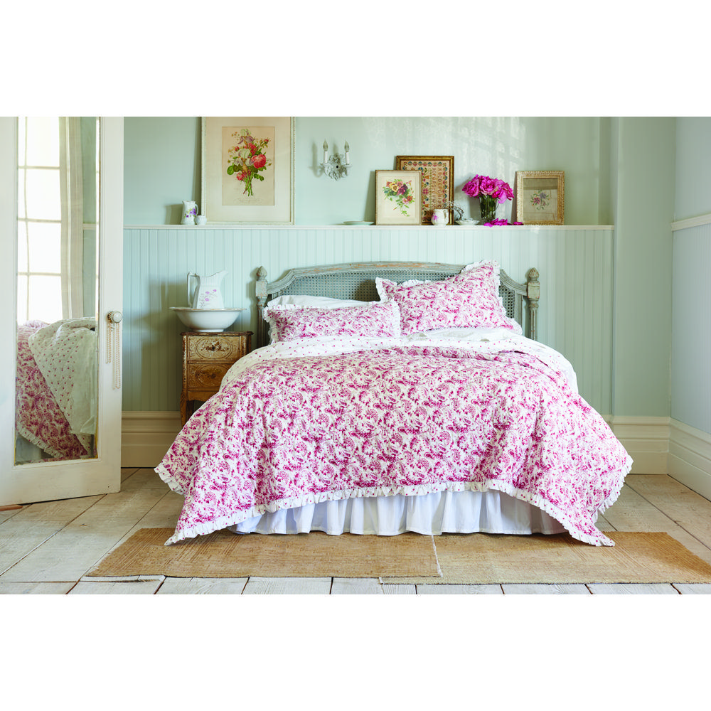 Simply Shabby Chic® Country Paisley Quilt available