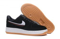 huge discount 3d716 d749a ... 898889-010 Men s Women s Casual Shoes. Nike Air Force 1   07 LX Black Gum  Yellow Summit White