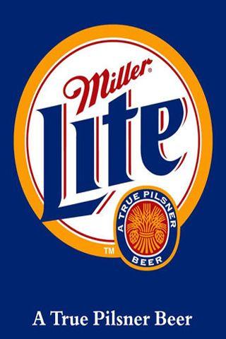 Miller Lite Old Logo iPhone Wallpaper Download